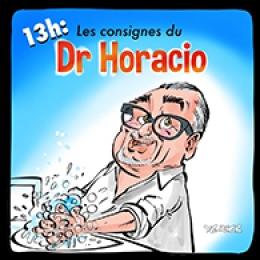 Les consignes du Dr Horacio